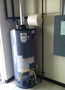 cary water heater installation