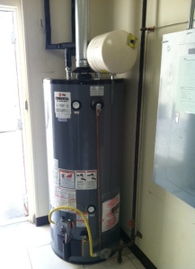 cary nc water heater installation