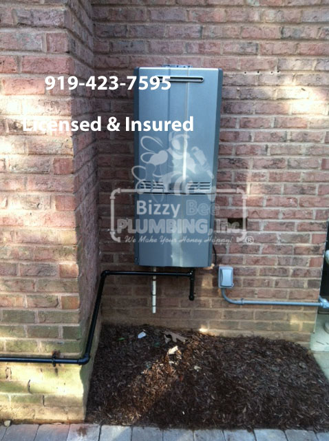 tankless cary, tankless water heater cary